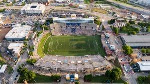 Big Soccer Stadium