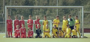 Children Participating In Soccer Leagues For Kids